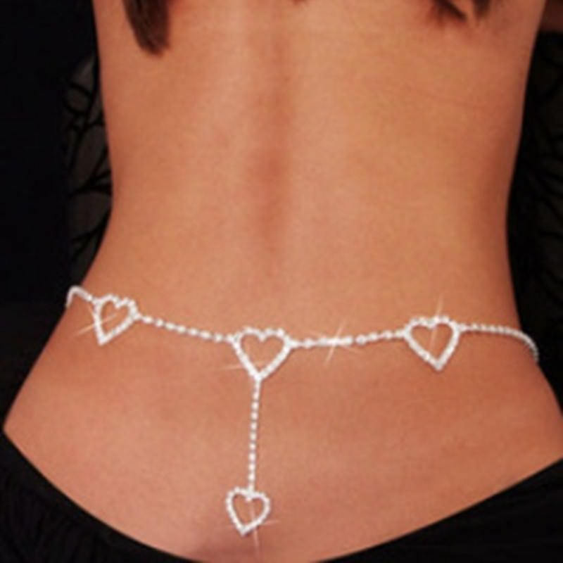 1940-18a2b78d172e7b8f524dfef206d6de2d Sexy Ladies Belly Chain Jewelry With Back Accent