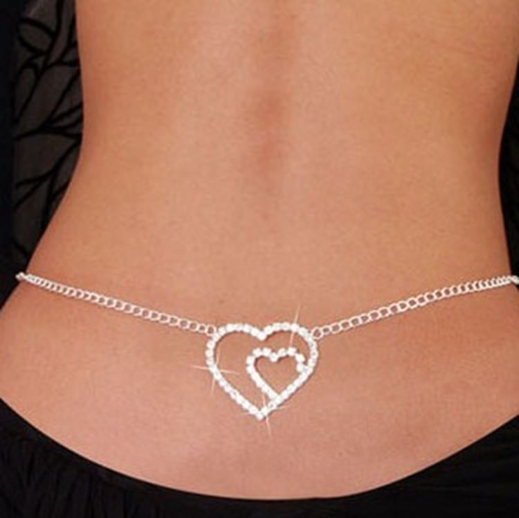 1940-2ad9983d45a6aaa0ce5a661876e9e046 Sexy Ladies Belly Chain Jewelry With Back Accent