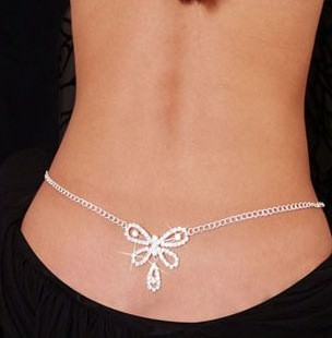 1940-5cd7ccdadad053450b6947d6472dcc01 Sexy Ladies Belly Chain Jewelry With Back Accent