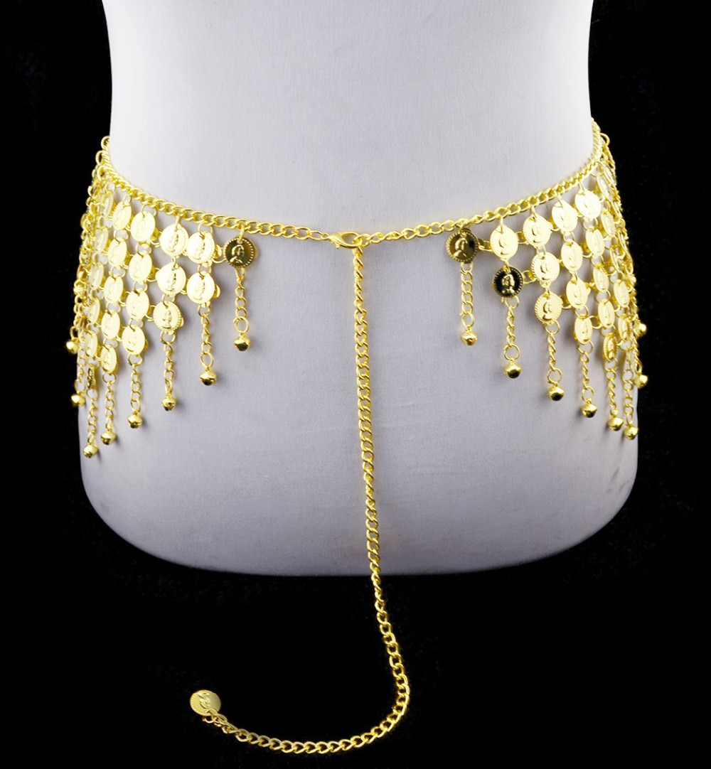 1942-53f2b1184ac7bb86f1a1b490e059b1c9 Gypsy Gold Belly Chain Jewelry With Vintage Coins And Bell Tassels