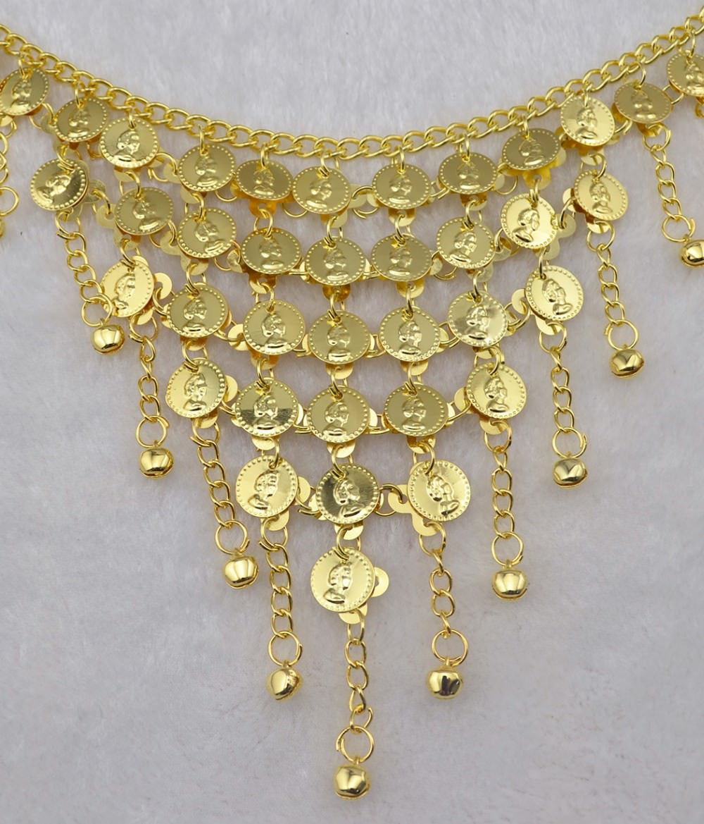 1942-bd3e2a5fad815bfa7194d92b6a3e236f Gypsy Gold Belly Chain Jewelry With Vintage Coins And Bell Tassels
