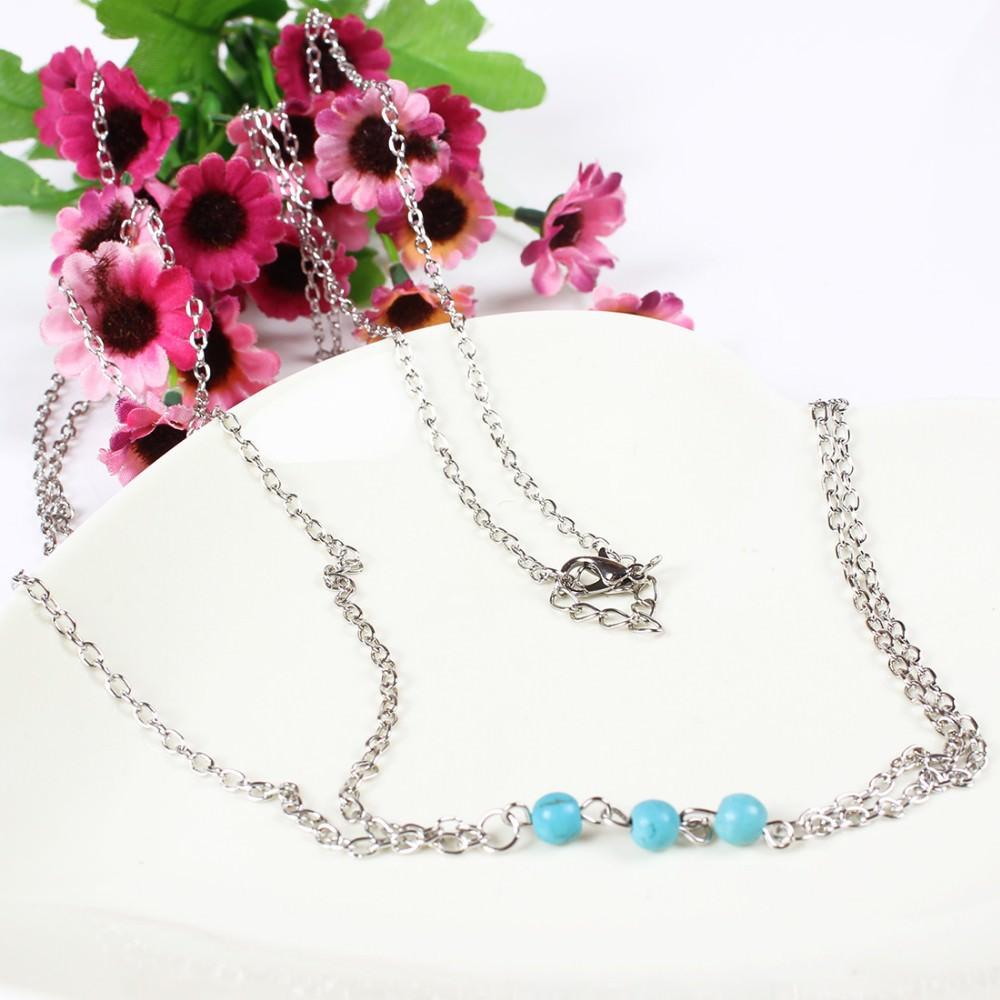 1949-faf0432a66561bdb846527ed58ea6719 Gold Body Chain Body Harness long necklace with Turquoise beaded Bikini jewelry Beach chain Girlfriend Gift Body Jewelry