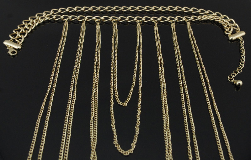 1953-a743379d11829ac2cacc5bc6249fb652 Chunky Gold Plated Choker With Sexy Body Chain Jewelry