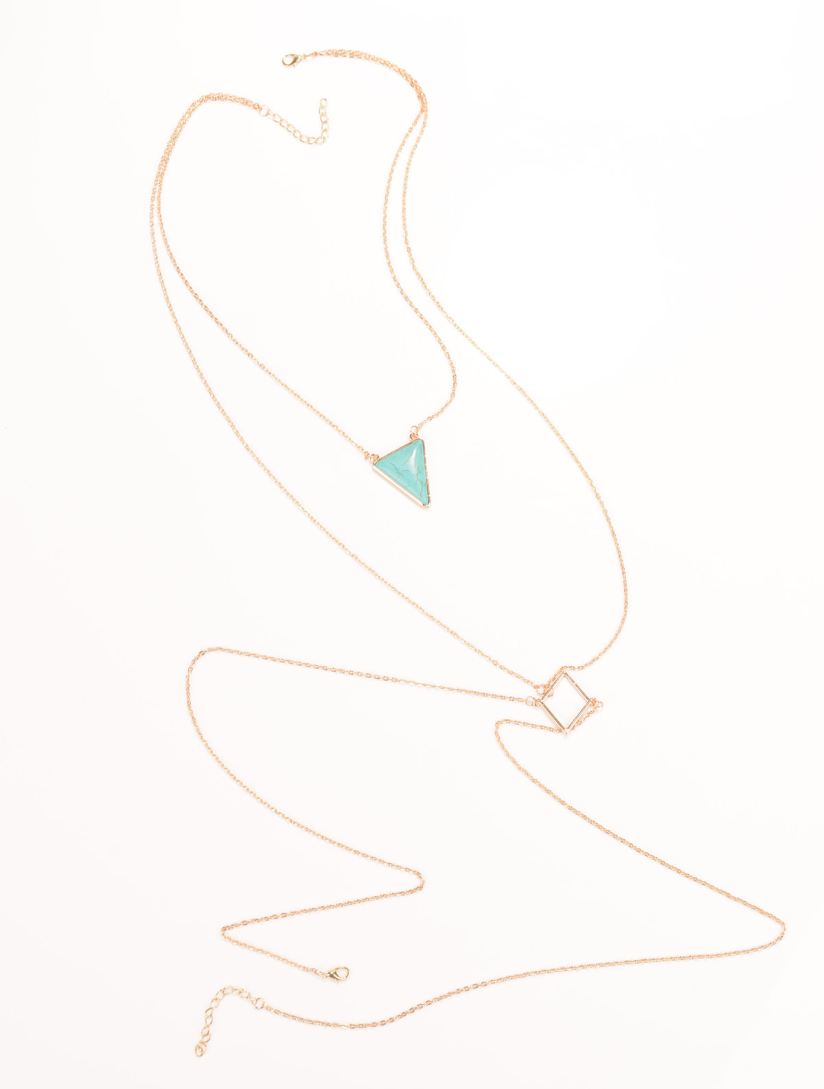 1960-e3be6afb4eec0b811f3a2776f35fe7af Captivating Body Chain Necklace With Bijoux Triangle Turquoise Stone