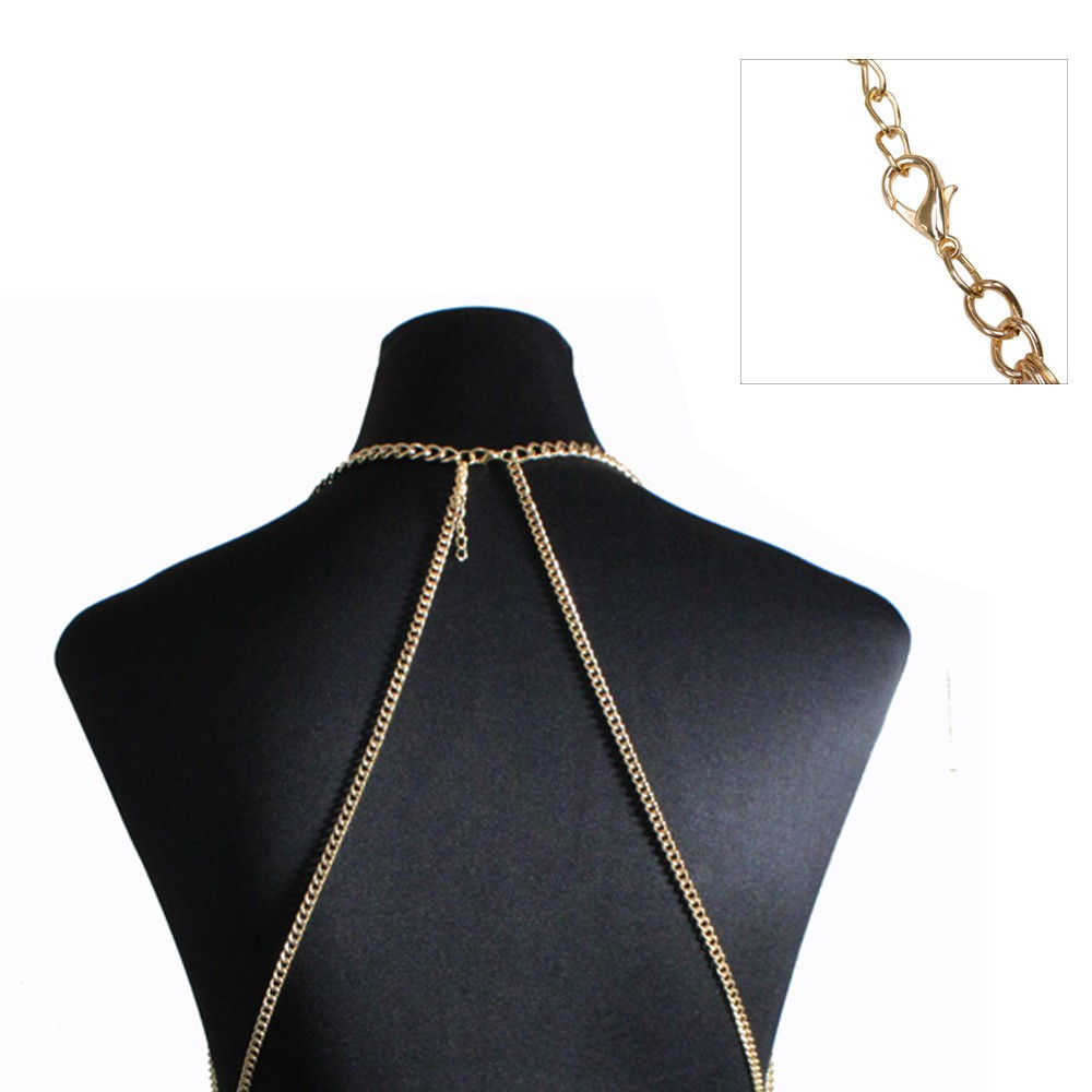 1971-edd5dad5580bc98cd3463c8461a9b42a Multi-layer Body Chain Jewelry With Rhinestone Beaded Chain Accent