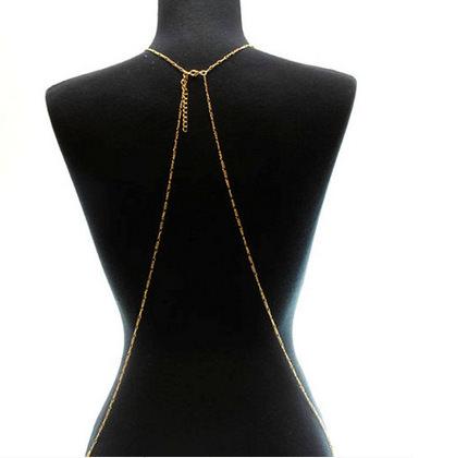 1984-30248dce0be64bd9f0101058cb94973c Multi-layer Rhinestone Crystal Rihanna Body Chain Necklace For Women