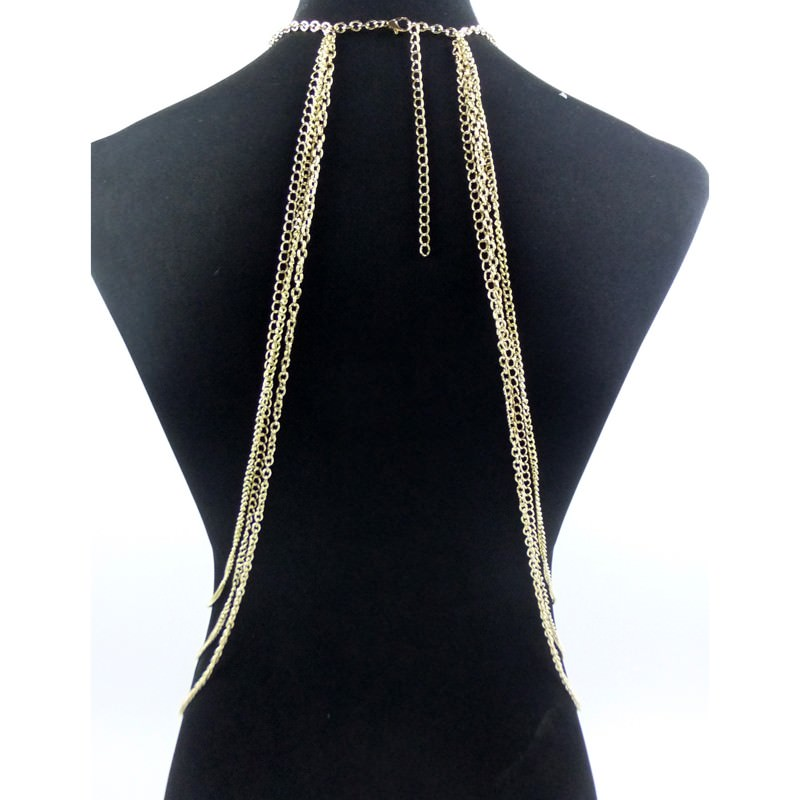 1997-15ce24a8a60139bcefb8d707f2de6146 New Fashion One Piece Sexy Tassel Collar Body Chain Harness Jewelry
