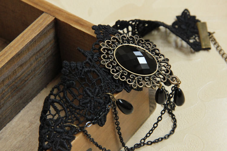 4990-39270493e377f0c742aaf7f8f70284d2 Vintage Victorian Style Gothic Lolita Choker Necklace In Various Designs