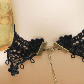 Vintage & Victorian Style Gothic Lolita Choker Necklace In Various Designs