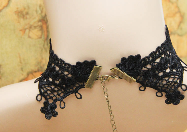 4990-53d77567f593c3491243d2326b01bb3b Vintage Victorian Style Gothic Lolita Choker Necklace In Various Designs
