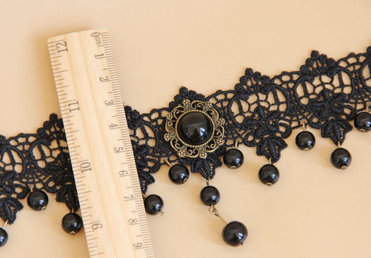 4990-a8f77a9feaa93dc699234d5dec881037 Vintage Victorian Style Gothic Lolita Choker Necklace In Various Designs