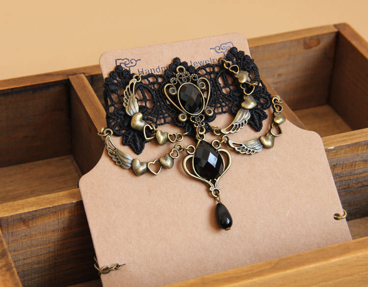 4990-c3afc6b2d617a80b1c7e707d9443f91a Vintage Victorian Style Gothic Lolita Choker Necklace In Various Designs