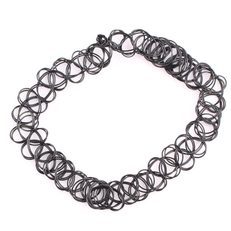 5023-88511f280ef53b2e3fbafa8147bd37bd Punk Gothic Stretch Tattoo Choker Necklace Jewelry