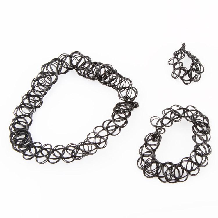 5023-e2da096567dc2be7ca4c9d9bbd9b9633 Punk Gothic Stretch Tattoo Choker Necklace Jewelry
