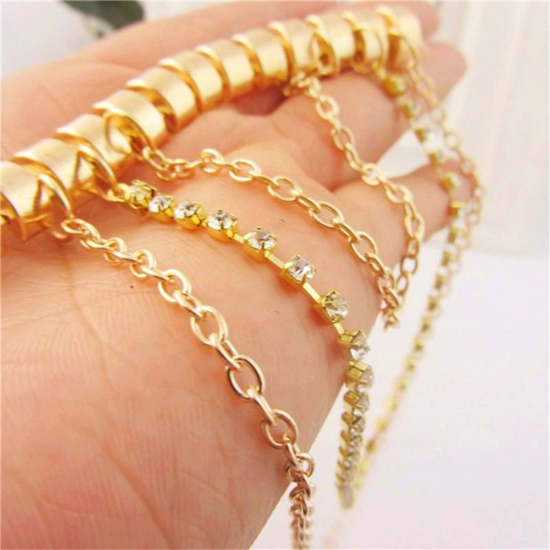 7053-359dadbdeb1d31b97f1a302e7683a917 Gold Anklet Jewelry With Layered Chain Heel Drape