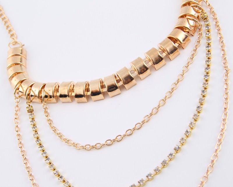 7053-b34c7b69189cb7d824ad5e5b5e237151 Gold Anklet Jewelry With Layered Chain Heel Drape