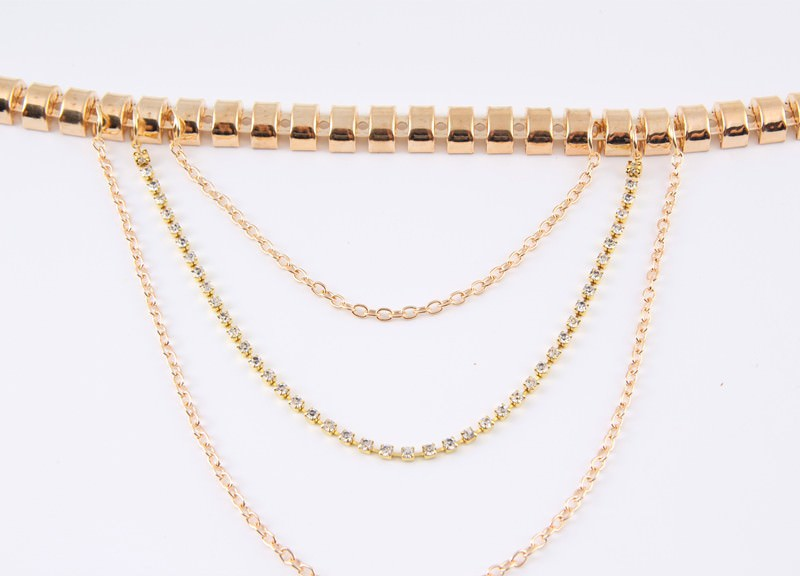 7053-caf0574fec4c24bfdfa49d542284ce0b Gold Anklet Jewelry With Layered Chain Heel Drape