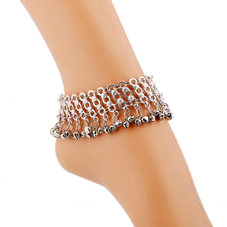 7054-5fa6383aaf129c5459db779be80f63bf Wide Bohemian Chain Anklet Jewelry With Dangling Bells