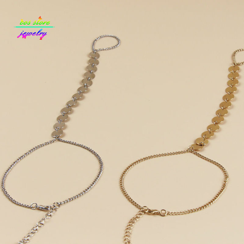 7058-a993d8d11af92c691d20ef34b73e168e Shiny Metal Coin Pendant Beach Barefoot Sandals Anklet Jewelry