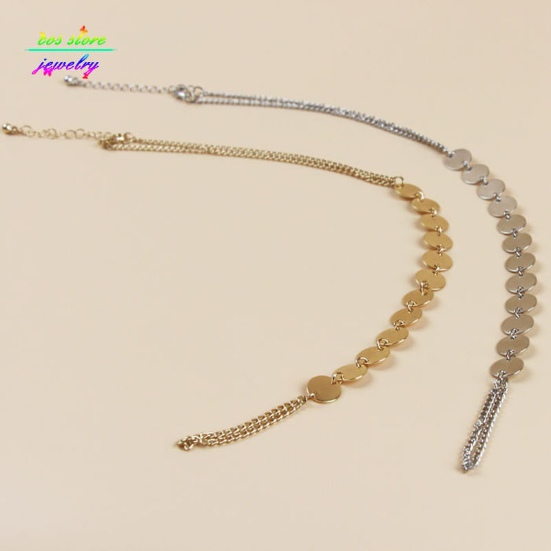 7058-f62dc2c1a73ec5b9e87804c620e54665 Shiny Metal Coin Pendant Beach Barefoot Sandals Anklet Jewelry