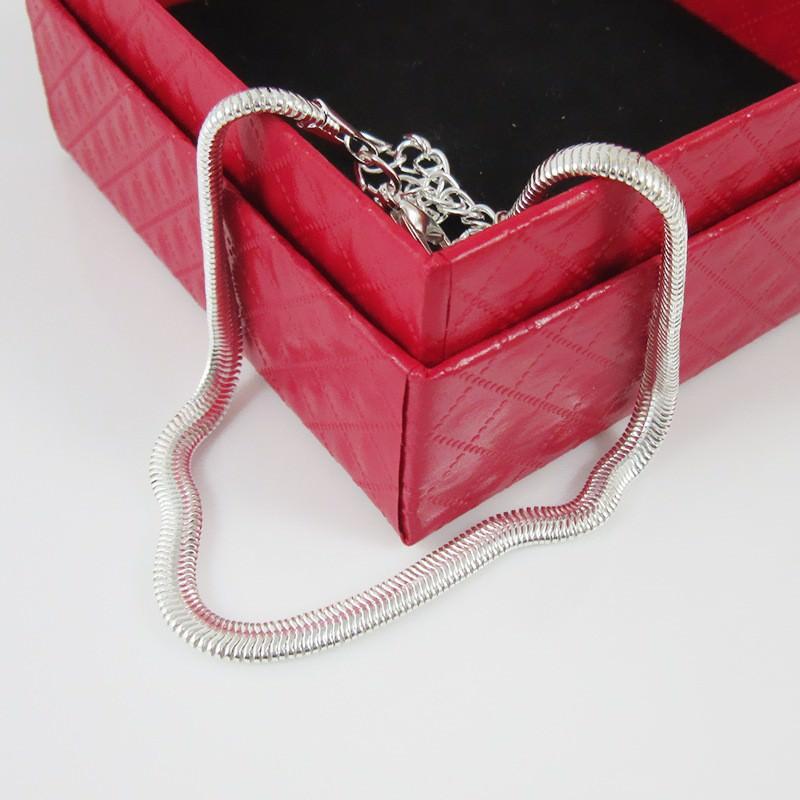 7064-2ed96c02ed843707677e2598b76cc56b Elegant Gold/ Silver Plated Herringbone Chain Anklet Jewelry