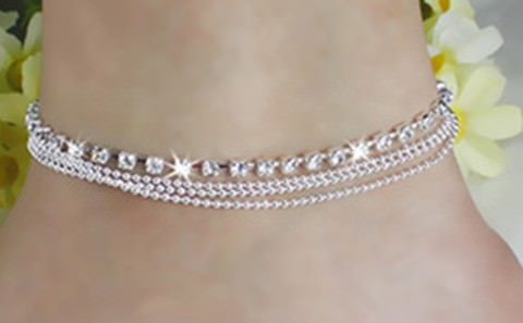 7071-09a74a4b83d74370d6523048d99f00af Fashionable Multi-layer Chain Beach Anklet Jewelry