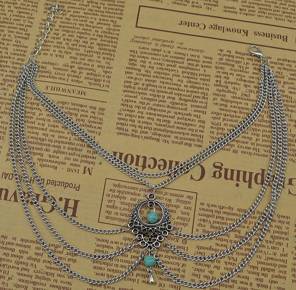 7072-2cfcc8ac3f8834d7af5cf75df595378d Boho Multi Chain Layer Tassle Anklet Jewelry