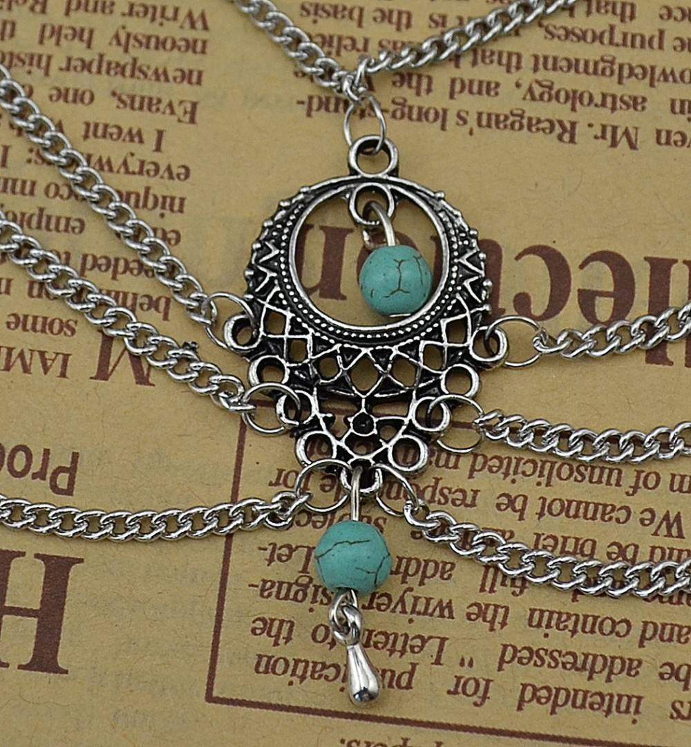 7072-6f023225d411e80240199e124b24245f Boho Multi Chain Layer Tassle Anklet Jewelry