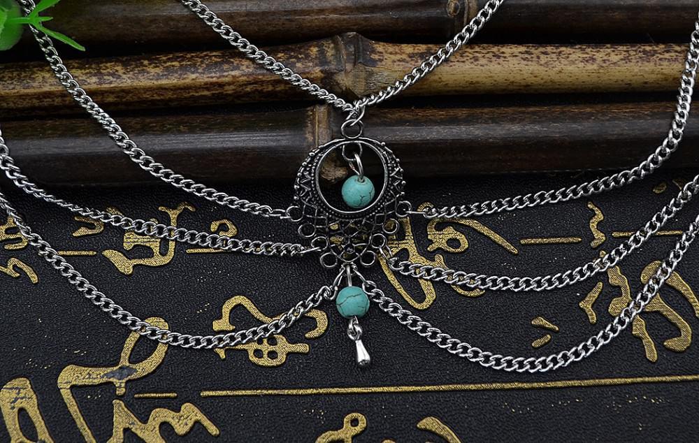 7072-7f8e407fcac166ff766fca0e99ab632e Boho Multi Chain Layer Tassle Anklet Jewelry