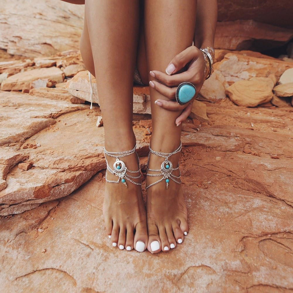 7072-ef3ef68181387e824e87998f27fe5d7e Boho Multi Chain Layer Tassle Anklet Jewelry