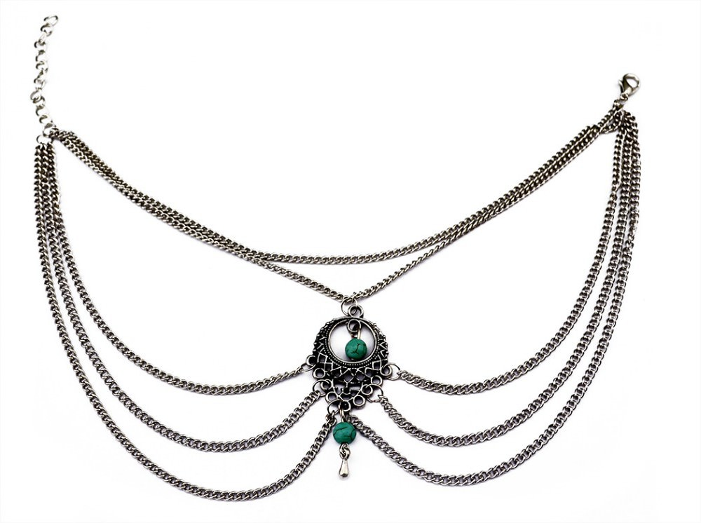 7072-fa5706e9a6944cab55a31bc91a10ad04 Boho Multi Chain Layer Tassle Anklet Jewelry