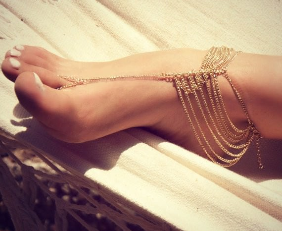 7075-a641ef302df2df03dbdbb2d7587ff014 Multi-layer Chain Anklet With Attached Toe Ring
