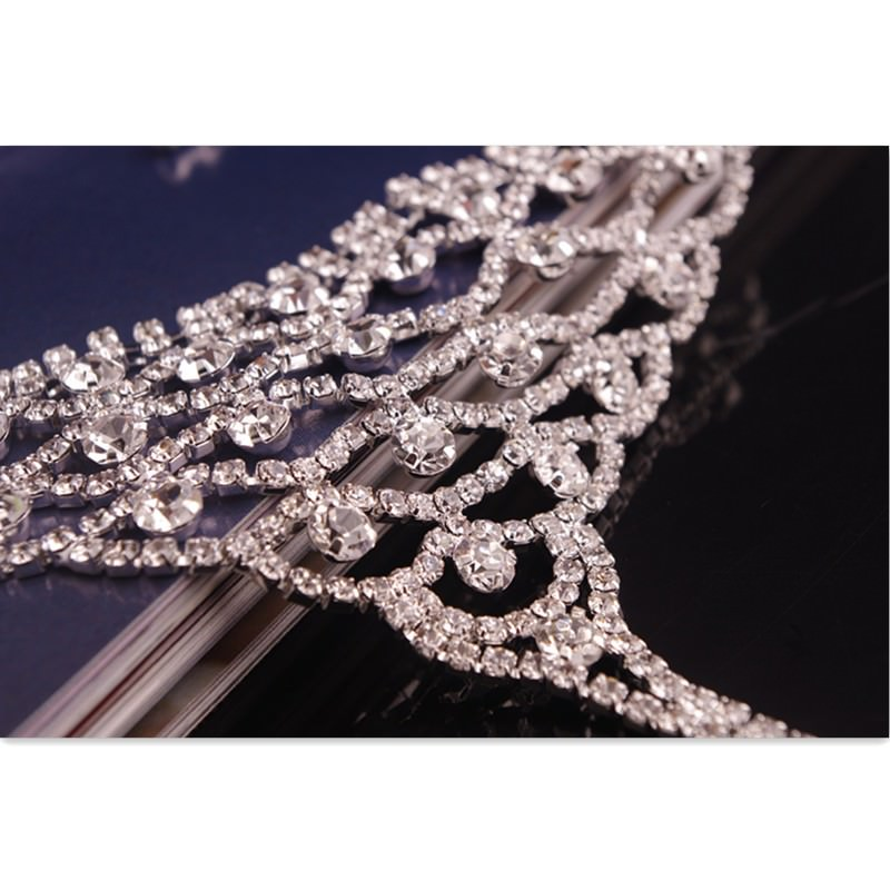 7080-b00102ef4404ef604840ee378d3c9fa0 Luxurious Bridal Crystal Encrusted Barefoot Sandal Anklet Jewelry