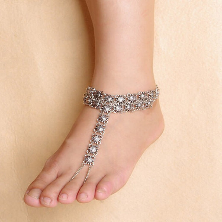 7090-ea1c3b68aa618b08d559172b99980685 Bohemian Barefoot Beach Sandals Anklet Jewelry