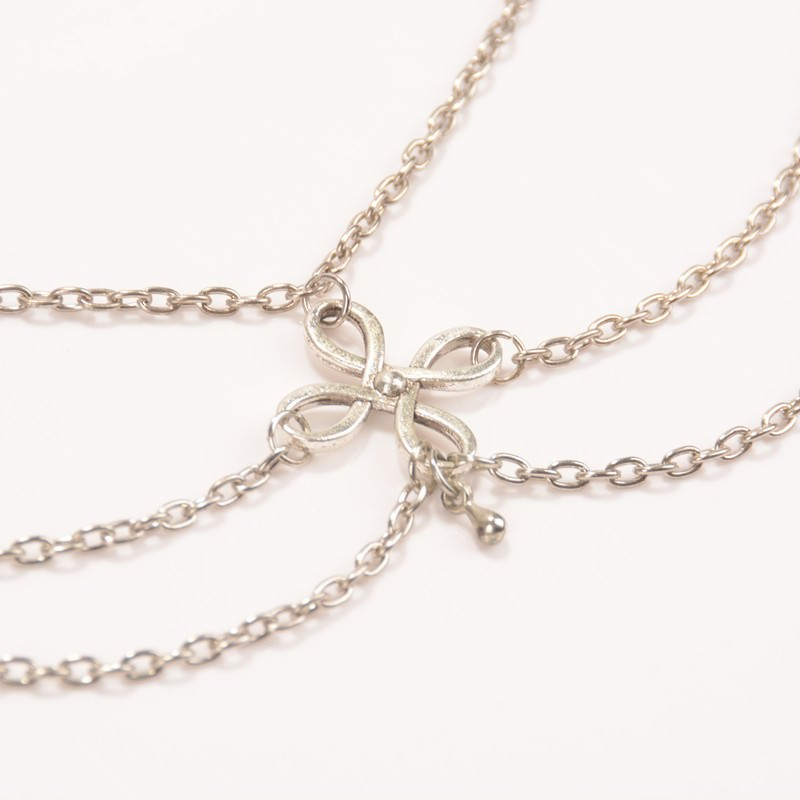 7091-4c202a9f2ea83b69c8768238d0119afc Vintage Multi-layer Chain Anklet Jewelry With Chinese Knot Pendant
