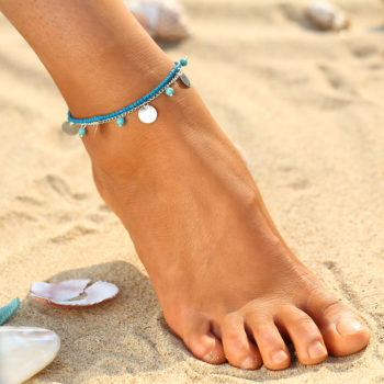 Women's Summer Anklet Jewelry In Various Designs