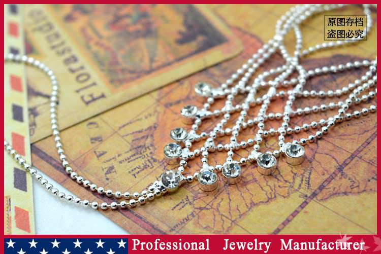 8838-4226f982d1032e8e9b09e2ded3b03bfa Ball Chain Hand Slave Jewelry With Lattice Design And Rhinestone Accent