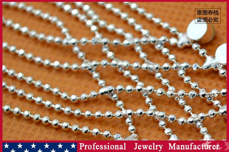 8838-4e0c6103a7033e23e0e042b3bdba04bb Ball Chain Hand Slave Jewelry With Lattice Design And Rhinestone Accent