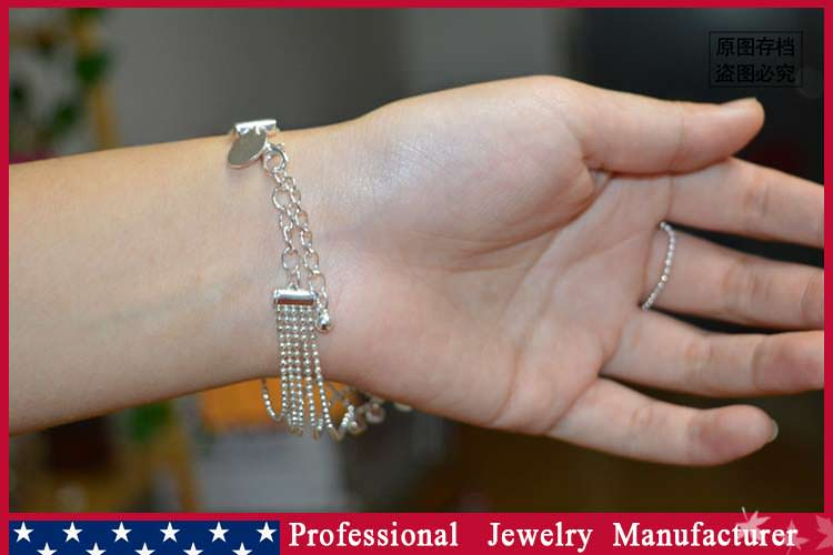 8838-be43ec4a98bcd85263f306e01732c47d Ball Chain Hand Slave Jewelry With Lattice Design And Rhinestone Accent