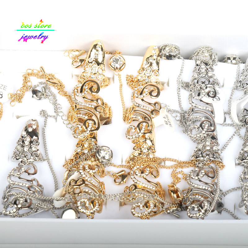8839-55cbd2b831ede5580ee7b3db46567faf Excuisite Floral Chain Hand Slave Jewelry With Nail Armor