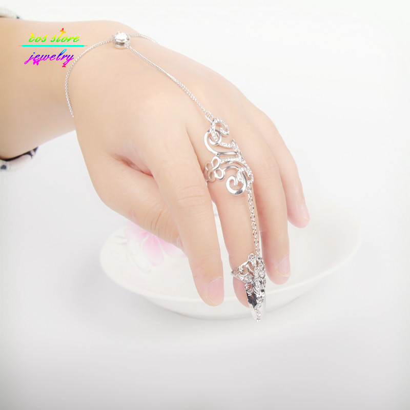 8839-d35571a52f8439552327fb9448b4105c Excuisite Floral Chain Hand Slave Jewelry With Nail Armor