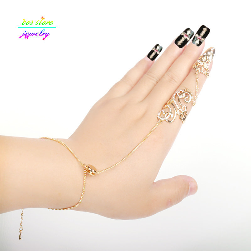 8839-dac987d609562c8456f6a194f7e2e45b Excuisite Floral Chain Hand Slave Jewelry With Nail Armor