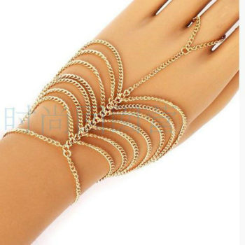 Simple Multi-layer Chain Hand Slave Jewelry For Women