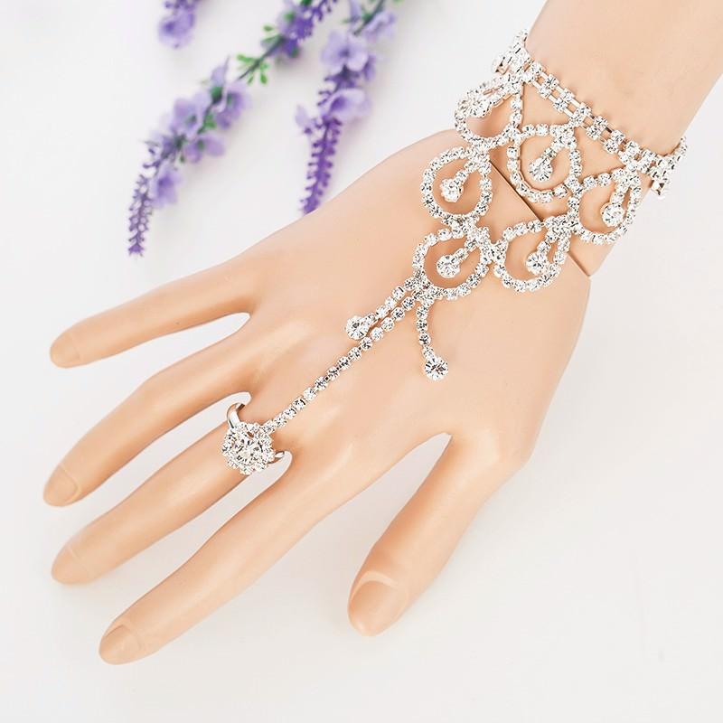 8851-8880a98efe26f1a342661e1bb11c661c Elegant Rhinestone Chain Jewelry With Dangles