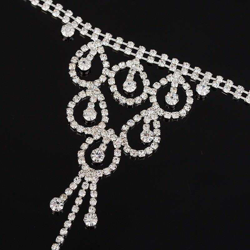 8851-efd4d37db65d86433f3814dd95e50d37 Elegant Rhinestone Chain Jewelry With Dangles