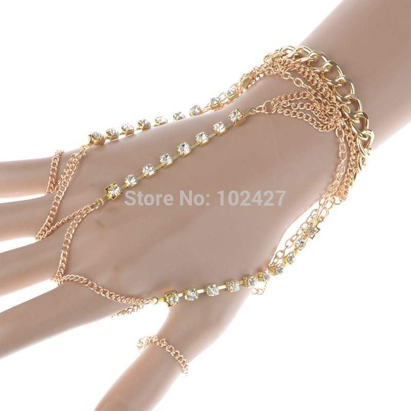 8852-6d1619281becba2f4c486f2fc39448d4 Luxurious Finger Slave Hand Chain Harness Jewelry With Rhinestones