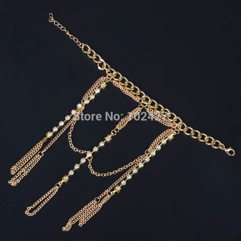 8852-8e06e09518559638fbb324c60898cfb0 Luxurious Finger Slave Hand Chain Harness Jewelry With Rhinestones