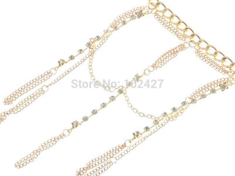 8852-9f20d275d495bbbba8310cc4699c98e0 Luxurious Finger Slave Hand Chain Harness Jewelry With Rhinestones