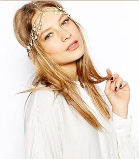 8875-4c174227c2039cc5a824913d3469eb14 Elegant Gold Plated Bridal Chain Head Jewelry With Rhinestone Gems