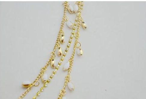 8875-7134543b5093f50a8378f86e97b6c8d9 Elegant Gold Plated Bridal Chain Head Jewelry With Rhinestone Gems